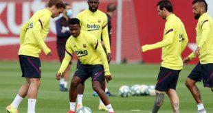 Messi und Co. nehmen das Training wieder auf
