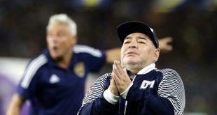 Gimnasia La Plata verlängert mit Diego Maradona