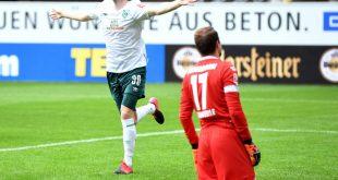 Davy Klaassen jubelt nach seinem Führungstor