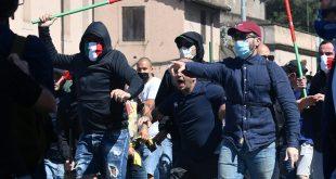 Neofaschisten und Fußball-Ultras demonstrierten in Rom