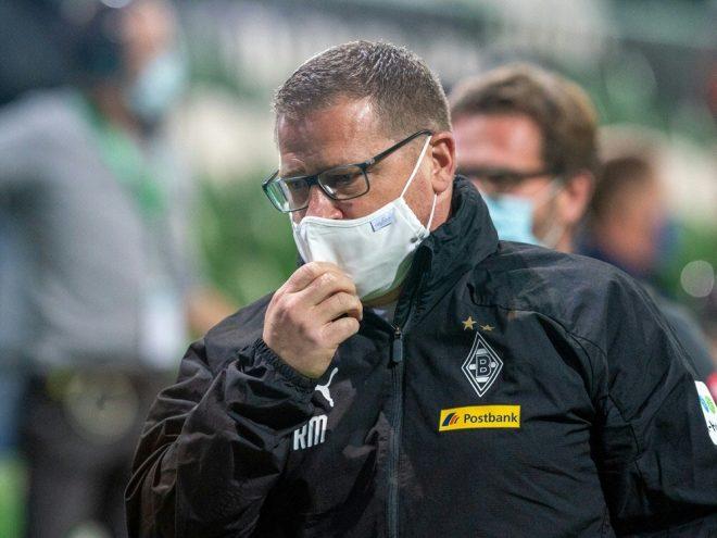 Sportdirektor Max Eberl sieht die Rote Karte