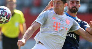Erfolgreich war das Testspiel der Bayern gegen Marseille