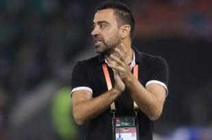 Xavi verlängert seinen Trainervertrag bis 2021