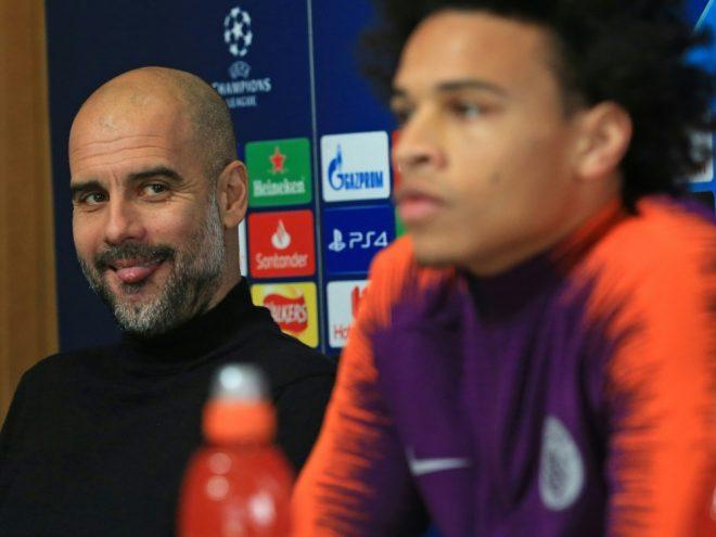 Guardiola spricht über den Wechsel von Leroy Sane