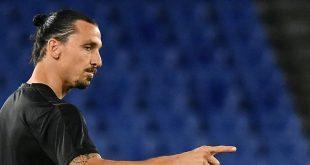 Ibrahimovic belegt mit Milan derzeit den siebten Platz