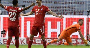 Gnabry und Lewandowski steuerten drei Tore zum Sieg bei