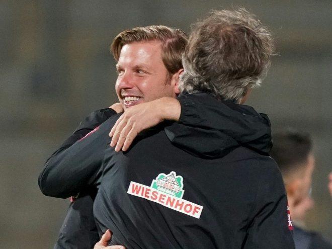 Florian Kohfeldt und Frank Baumann dürfen bleiben
