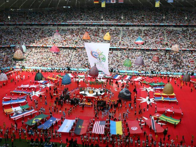 Am 9. Juni 2006 stieg das WM-Eröffnungsspiel in München