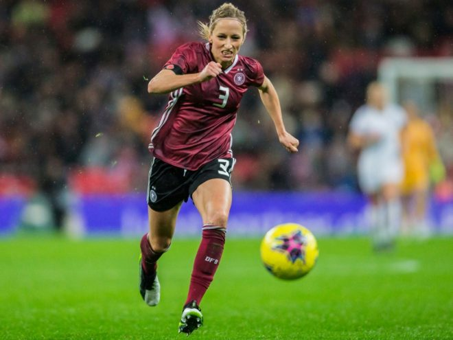 Nationalspielerin Kathrin Hendrich geht nach Wolfsburg