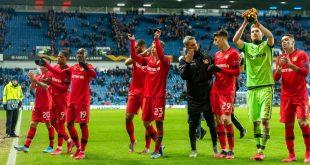 Bayer Leverkusen hat gute Chancen auf das Viertelfinale