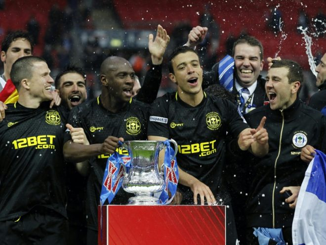 2013 FA-Cup-Sieger, jetzt insolvent: Wigan Athletic