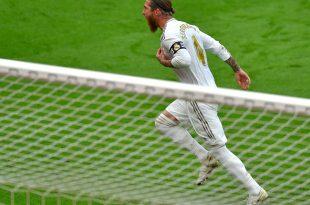 Matchwinner: Vom Elfmeterpunkt trifft Ramos zum 1:0-Sieg