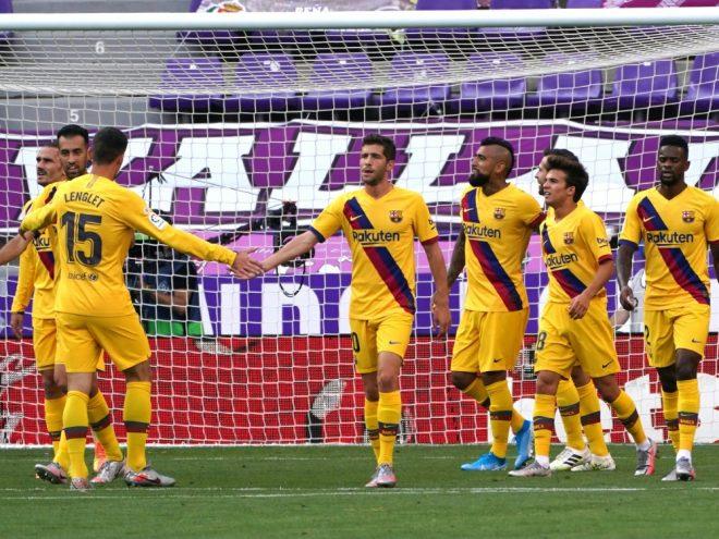 Barcelona hält Kontakt zu Real