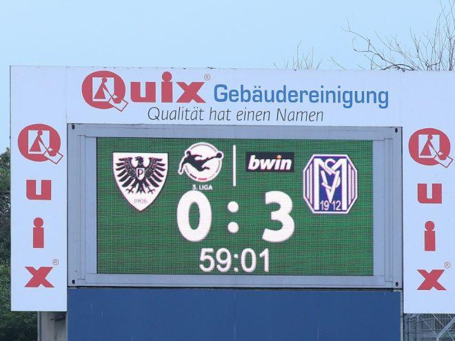 Münster steigt aus der 3. Liga ab