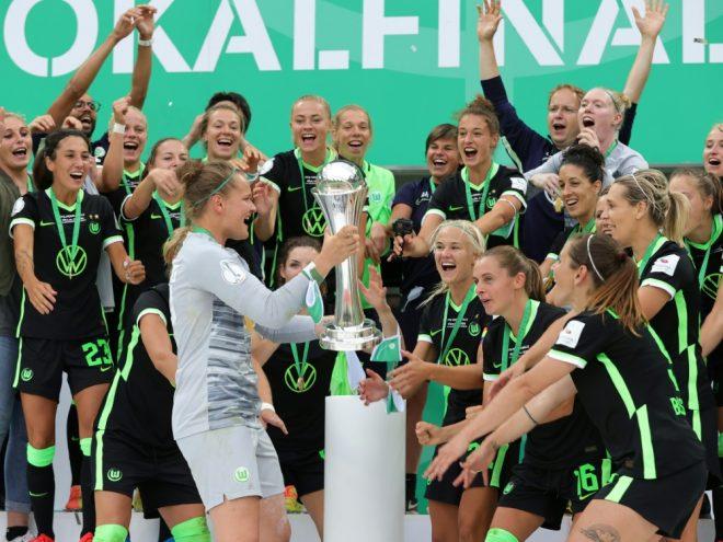 Wolfsburg sicherte sich den Titel im Elfmeterschießen