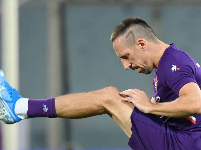 Ribery war am Wochenende bei Parma Calcio zu Gast