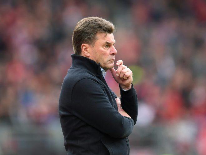 Abschied beim HSV nach nur einem Jahr: Dieter Hecking