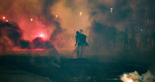 In Paris kam es zu schweren Ausschreitungen
