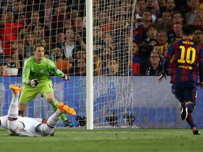 2015 gewann Barcelona das Duell klar mit 3:0