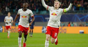 Emil Forsberg (r.) traut Leipzig den Sieg zu