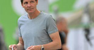 Trainer Oliver Glasner und der VfL müssen nach Albanien