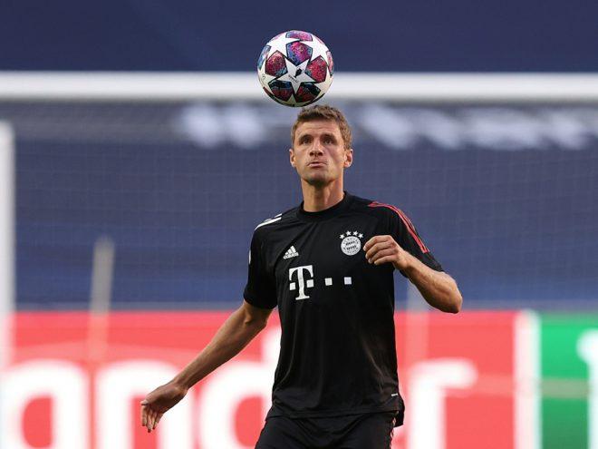 Müller absolviert gegen Barca seine 113. CL-Partie