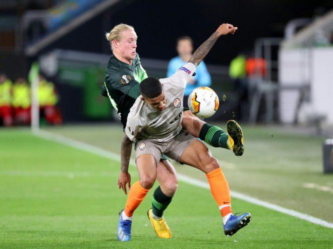 Die Wolfsburger verloren das Hinspiel mit 1:2