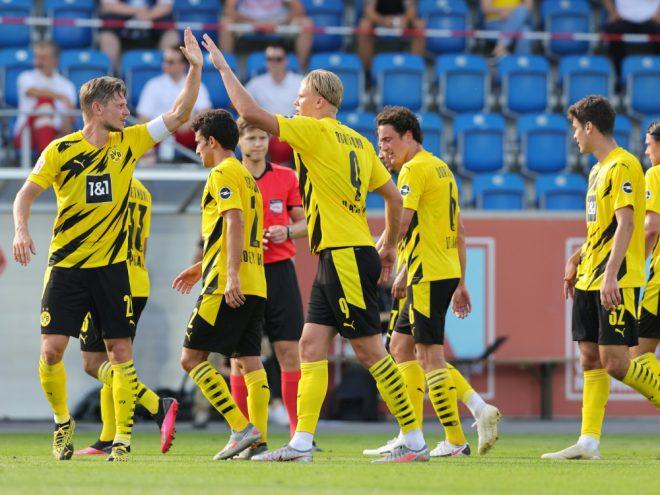Borussia Dortmund gewann souverän mit 6:0