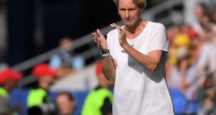 Voss-Tecklenburg freut sich auf die Partie gegen England