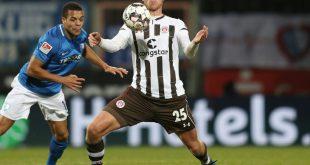 Henk Veerman (r.) verlässt St. Pauli in Richtung Heimat