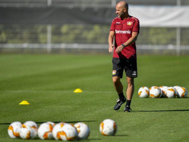 Bayer-Trainer Bosz erwartet gegen Glasgow viel Arbeit