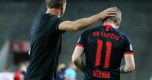 Timo Werner (r.) wechselte diesen Sommer zum FC Chelsea