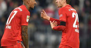 Boateng und Müller (r.) werden vorerst kein Comeback geben