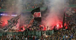 Einsatz von Pyrotechnik: DFB bestraft Frankfurt