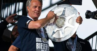 Uwe Neuhaus freut sich besonders auf das Spiel beim BVB