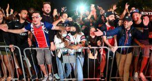 Paris-Fans feiern den Einzug ins CL-Finale