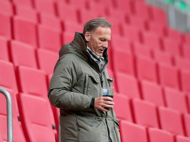 Hans-Joachim Watzke rechnet mit baldiger Fan-Rückkehr