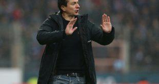 Coach Daniel Meyer macht sein Team im Münsterland fit