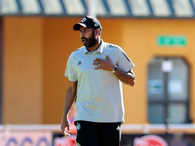 Daniel Thioune scheidet mit dem HSV in Dresden aus