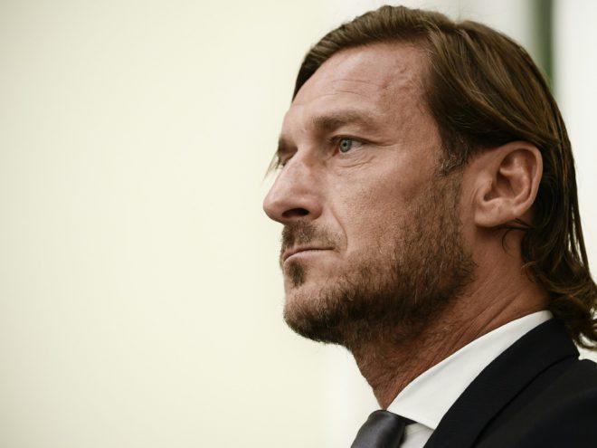 Totti hatte seine Profi-Karriere in Rom 2017 beendet