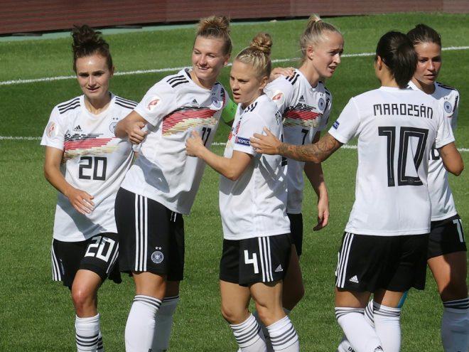 Weiter mit weißer Weste: die DFB-Frauen