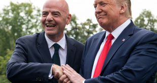 Gianni Infantino besuchte US-Präsident Donald Trump