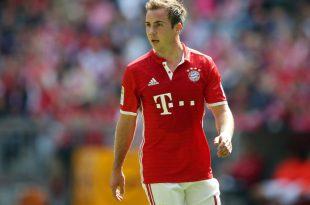 Mario Götze spielte von 2013 bis 2016 für die Bayern