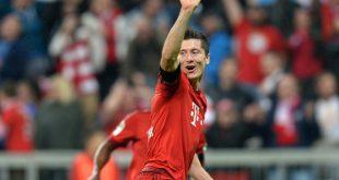 Robert Lewandowski schoss 2015 gegen Wolfsburg fünf Tore