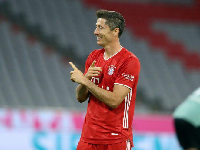 Robert Lewandowski ist bereit für den Supercup