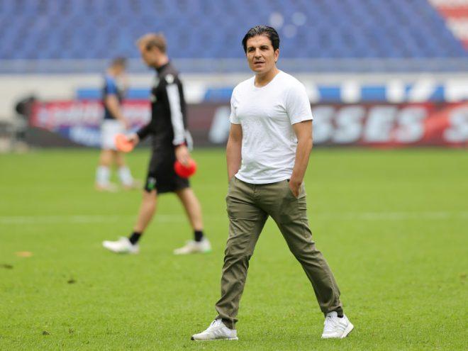 Kenan Kocak und Hannover 96 stehen in Runde zwei