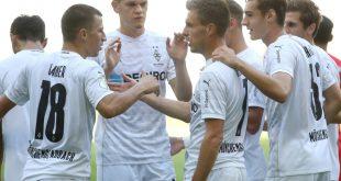 Borussia Mönchengladbach bezwingt den FC Oberneuland 8:0