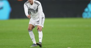 Im DFB-Training dabei: Luca Waldschmidt