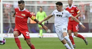 Union Berlin unterliegt dem FC Augsburg 1:3