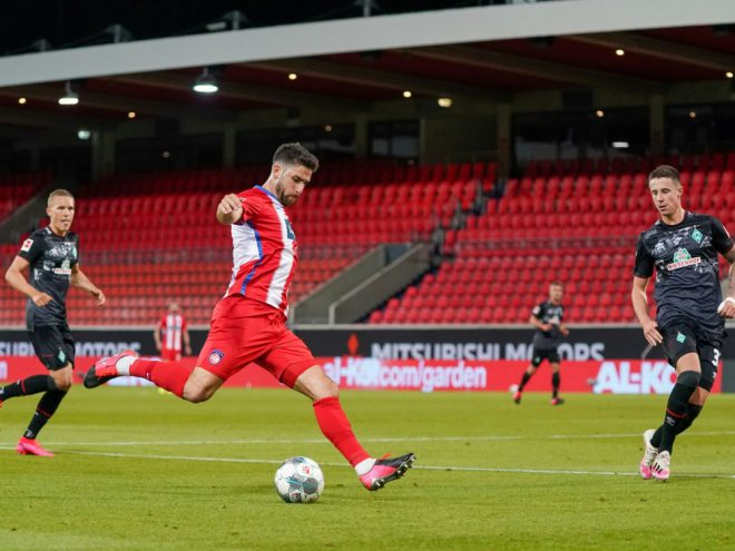 In Heidenheim dürfen bis zu 3000 Zuschauer ins Stadion